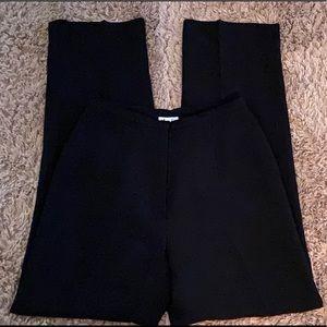 Ann Taylor Loft Lined Black Pants size 2